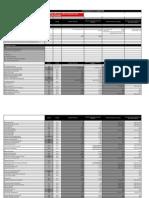 2011 12 Fees Spreadsheet 25 July 2011