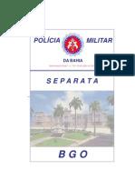 Separata Subcomando -Geral n.º 136- 19 de julho de 2011