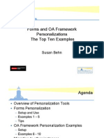 Form and Oaf Personalization