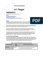 Challenges and Recommendations for Pakistan Sugar Industry