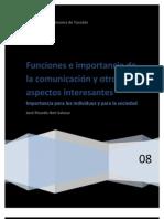 Niveles y Funciones de La Comunicacion