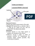 Types of Pmsm