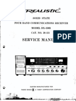 Radio Shack DX150B Shortwave Radio Service-Manual