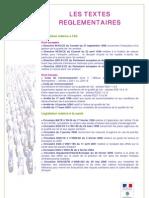 REG2007 qualité de l'air _textes réglementaires applicables _FR