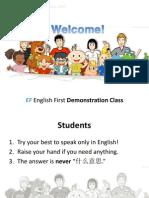 EF Zhengzhou Demo Presentation