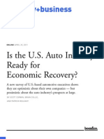 Automobile Industry in Usa