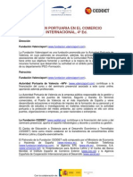 Gestion Portuaria en El Comercio Internacional