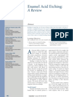 Enamel Acid Etching - A Review