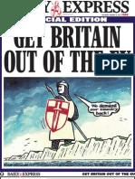 (NA ENGLESKOM) - Izvucite Britaniju Iz EU! - Posebni Prilog Daily Expressa Get Britain Out of the EU