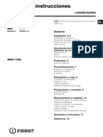 as Indesit IWDC 7085B
