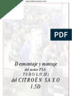 (PUBLICADO) Desmontaje y montaje del motor PSA TUD5L(VJZ) de CITROËN SAXO