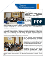 BC 2011-063 Resultado Seminario Kaloie
