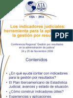 indicadores judiciales