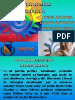 PARTIDO COLOMBIA DEMOCRATICA