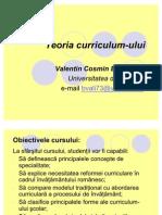 Teoria Curriculum Ului