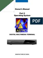 Astro Digital Receiver Userguide en Part2