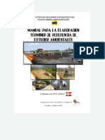 Manual Para Elaborar Tdr Estudio Ambiental