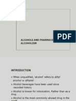 Alcohols And The Pharmacotherapy Of Alcoholism