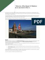 Basel II Reasons for Faliure