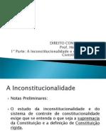 Direito Constitucional_Controle de Constitucionalidade_1º Parte