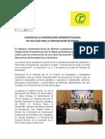 AVANCES EN LA CONSTRUCCIÓN INTERINSTITUCIONAL  DE UNA GUÍA PARA LA COMUNICACIÓN DE RIESGO