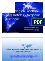 ¿Por qué marketing en facebook? - Marketing para Hoteles y Negocios Turísticos - Parte 1 de 7