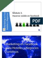 Hacerse visible en facebook - Marketing para Hoteles y Negocios Turísticos - Parte 4 de 7