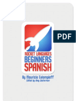 Rocket Spanish Beginners Grammar