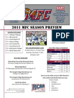2011 mfc season preview