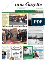 Platinum Gazette 19 August 2011
