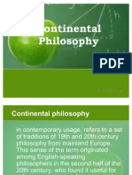 Continental Philosophy.audrey