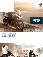 BMW G650GS Catalogue 2011