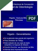 Higado, Vesicula Biliar y Pancreas