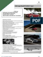 Ficha C180 Coupé BlueEfficiency Sport