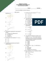 Evaluacion Algebra 2