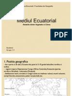 Mediul ecuatorial prezentare