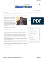 Tanzania Imports Veg a Tables