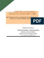 Trabajo Final-Macroeconomía -Cecilia Panire-Jujuy
