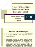 Arsenal Farmacolgico Bsico