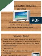 Televisión Digital y Televisión Educativa