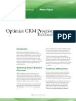 Optimizing CRM Processes