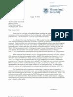 Napolitano Letter