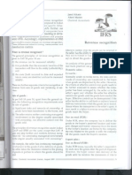 Revenue Recognition IFRS