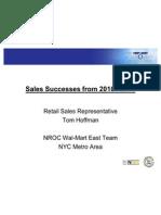 hoffman tom rsr sales successes