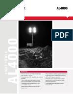 Brochure Luminaria Terex Amida Al4060d