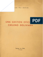 Una Gestion Oficiosa Chileno Boliviana