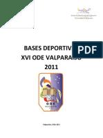 Reglamento ODE 2011 Valparaíso