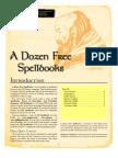 12 Free Spell Books