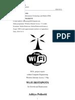 WiFi Hotspots Aditya