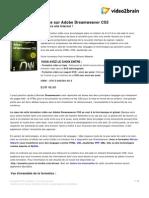 La Formation Complete Sur Adobe Dream Weaver Cs5